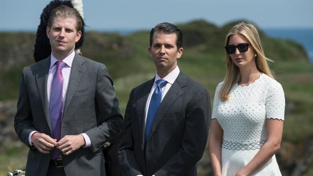¡Cargan al erario vacaciones de hijos de Trump en Los Cabos!