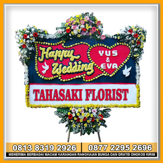 Harga Bunga Happy Wedding Ucapan Pernikahan