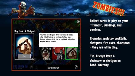 Screenshoot 1 Zombies!!! ® Board Game v1.1.732 APK Download