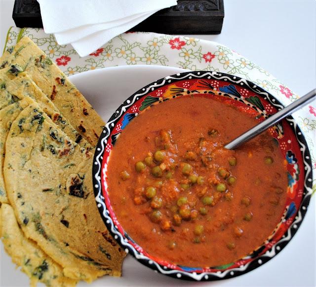 Curry de guisantes (matar masala)