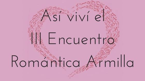 III Encuentro Romántica Armilla_Apuntes literarios de novela romántica