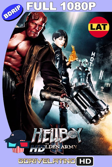 Hellboy II: El Ejército Dorado (2008) BDRip 1080p Latino-Ingles MKV