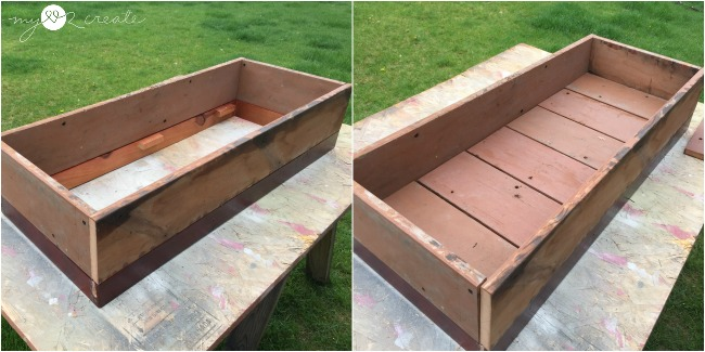 dry fit for planter box