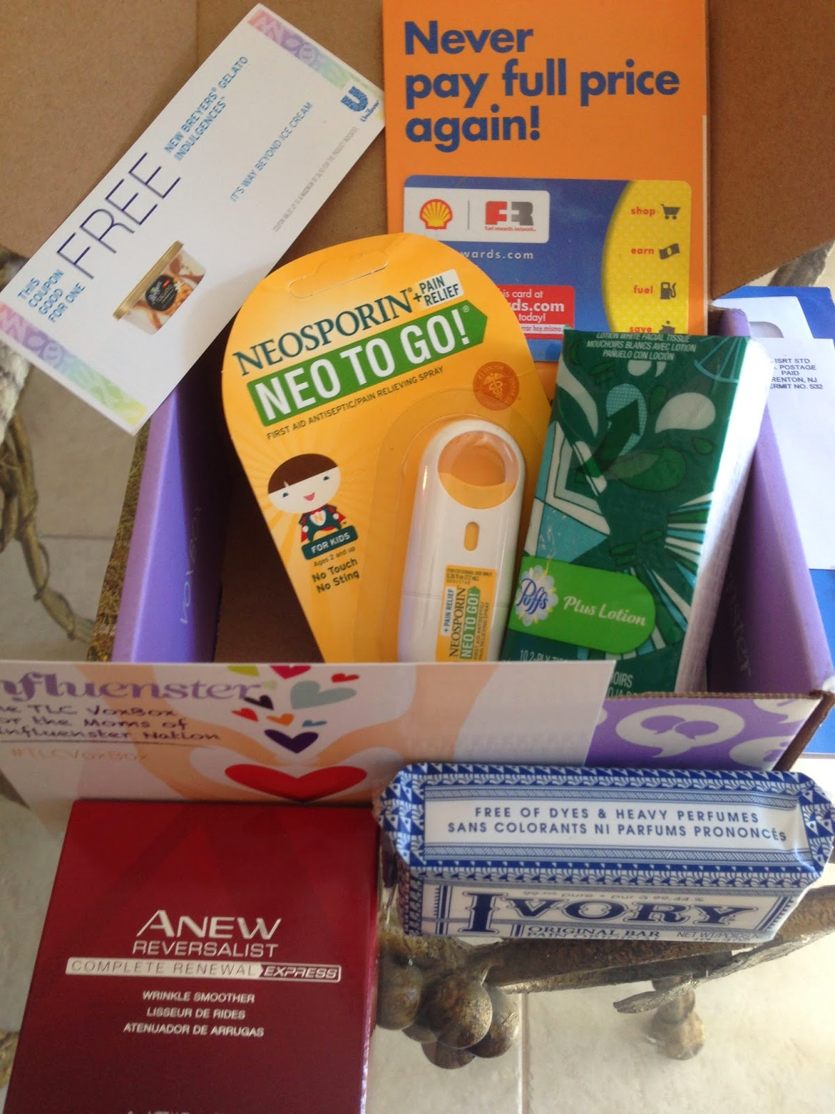 Influenster #TLCVoxBox for moms