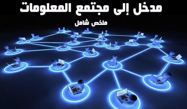 مدخل إلى مجتمع المعلومات pdf