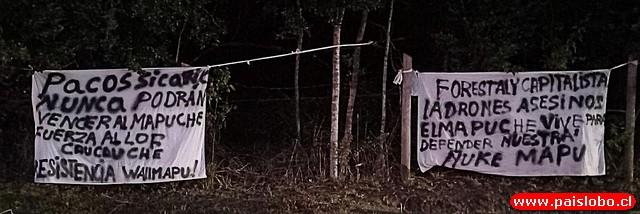 Osorno: Cortes de Rutas y mensajes de reivindicación