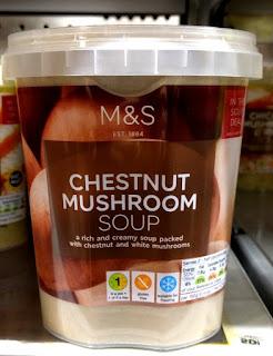 M&S Chestnut Mushroom Soup
