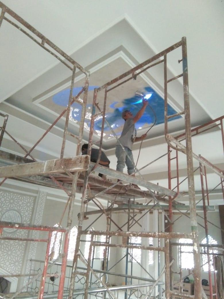 List-Project-Masjid-Jami'-Al-Hidayah-Bogor-Motif-Awan