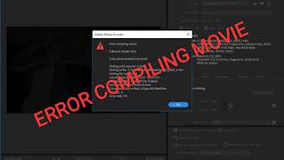 Cara mengatasi error compiling movie