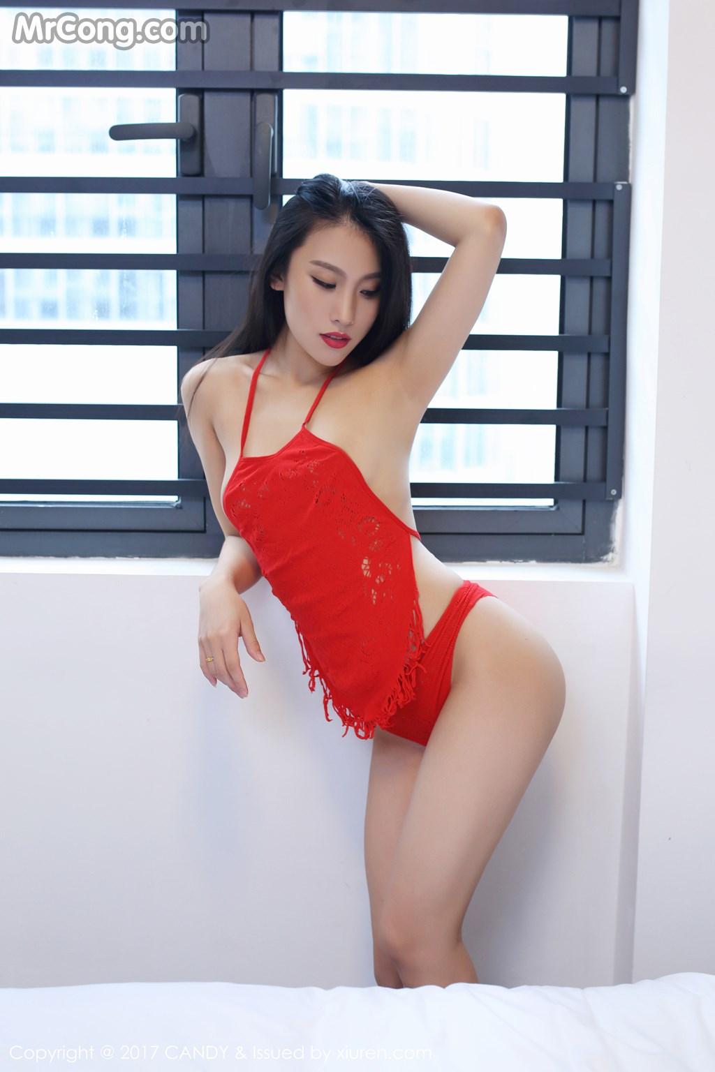 CANDY Vol.007: Người mẫu Zina (战姝羽) (55 ảnh)