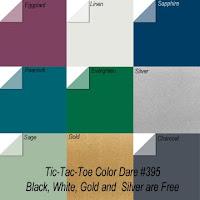 "Click Photo for Color Dare #395""TicTacToe"" - CLOSES Thurs June 4th"