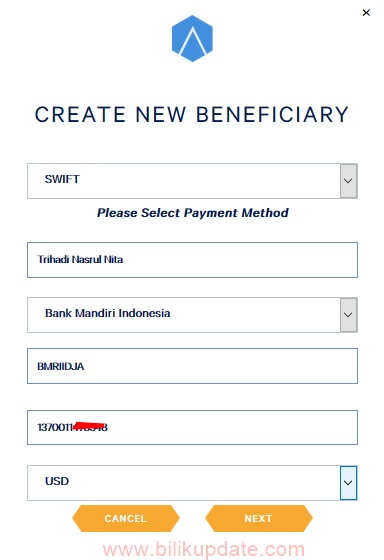 Cara Menambahkan Rekening Bank di PlayTagg