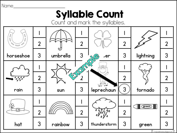 downloads for compound words, contractions, syllable sorts ...