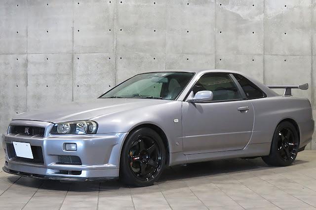 1999 NISSAN SKYLINE R34 GTR V-SPEC For Sale in Japan