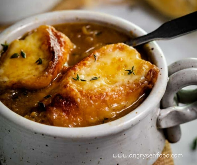 Homemade French Onion Soup  Recipe