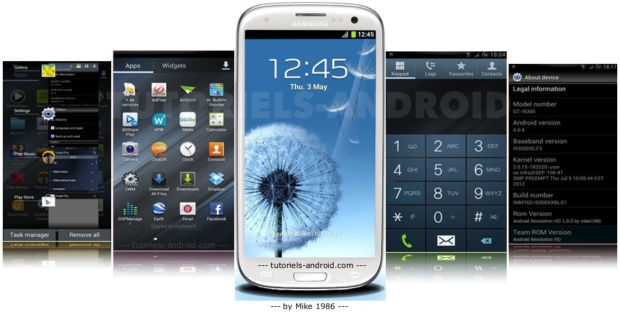 Android Revolution HD - GALAXY S3
