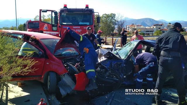 Τραγωδία στη γέφυρα της Νέα Κίου στην Αργολίδα -  Τροχαίο με τραυματίες και τουλάχιστον έναν νεκρό