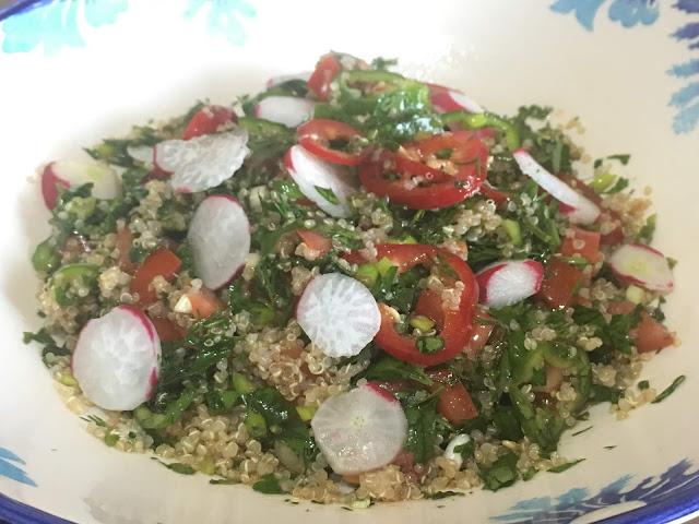 Salata tarifleri, Glutensiz Tarifler,sağlıklı beslenme, kinoalı tarifler, kinoa