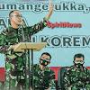 Ini Arahan, Pangdam Hasanuddin di Korem 142/Tatag Mamuju