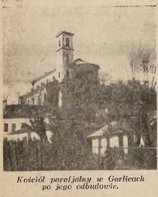 Gorlice kościół 1935