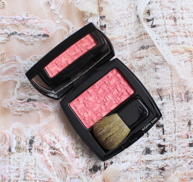 LES TISSAGES DE CHANEL Blush Duo Tweed Effect for 2018 in 130 TWEED EVANESCENT -