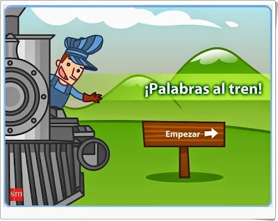 """""""¡Palabras al tren!"""" (Lengua española de 3º de Primaria)"""