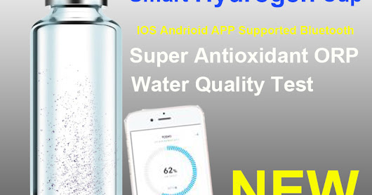 AOA-480s CloudCup Smart Hydrogen-Rich Glass Water Cup with Bluetooth