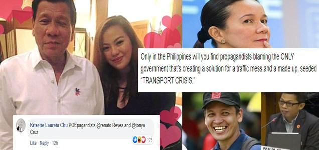 "Manila Bulletin writer accuses Renato Reyes and Tonyo Cruz of being Grace Poe's ""POEPAGANDIST?"" Says ""transport crisis"" made up by Reyes, Cruz | PTN"
