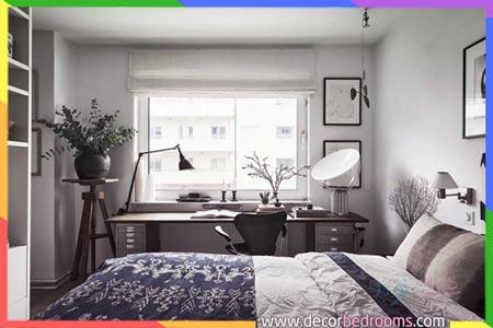 غرف نوم ذات مساحة ضيقة