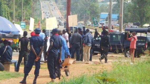 Plateau State youths protest against grazing reserves
