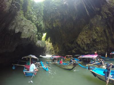 Harga Tiket Perahu Obyek Wisata Green Canyon Pangandaran