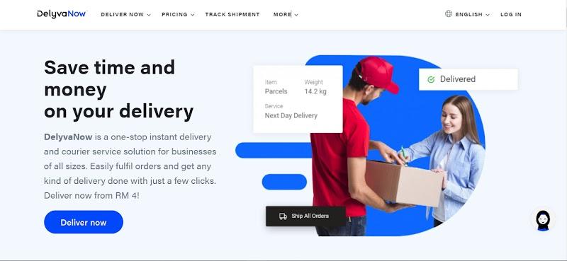 DelyvaNow Platform Penghantaran Semua Dalam Satu Yang Pintar, Mudah & Cepat