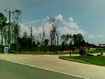 Arah Bandara Hang Nadim-Batam (Nokia 6120c)