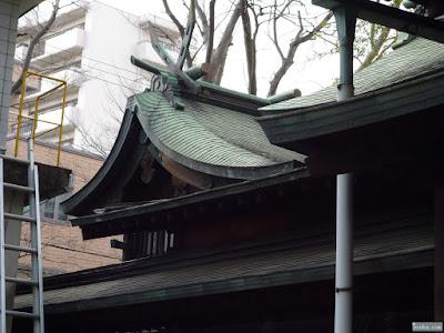 海老江八坂神社本殿