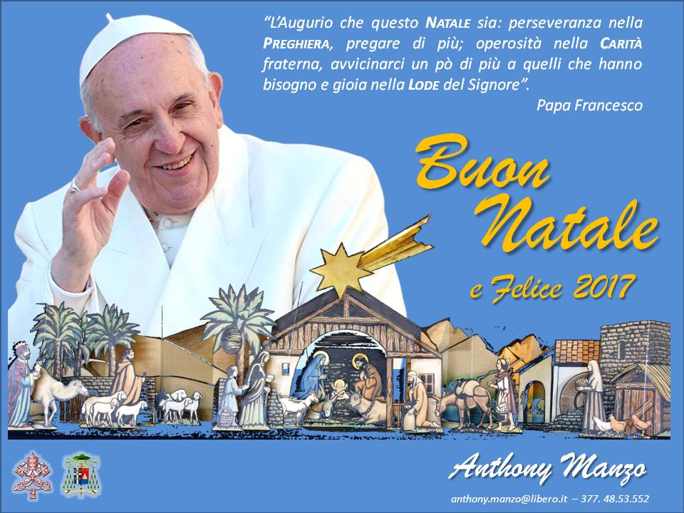 Frasi Natale Di Papa Francesco.Li Buon Anno Di Papa Francesco Querciacb