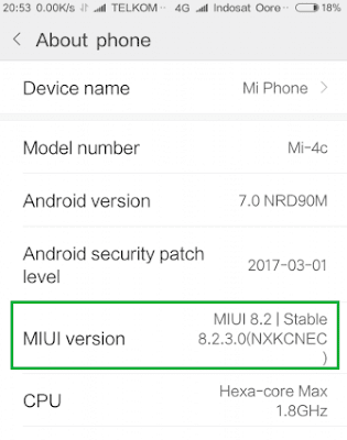 contoh rom china stable