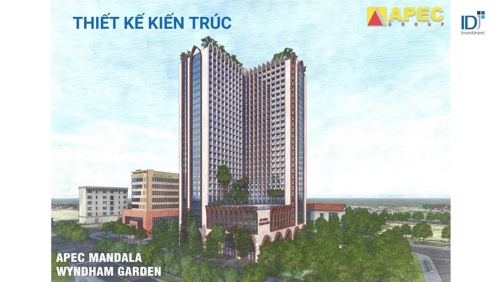 Phối cảnh dự án Apec Mandala Wyndham Garden Phú Yên