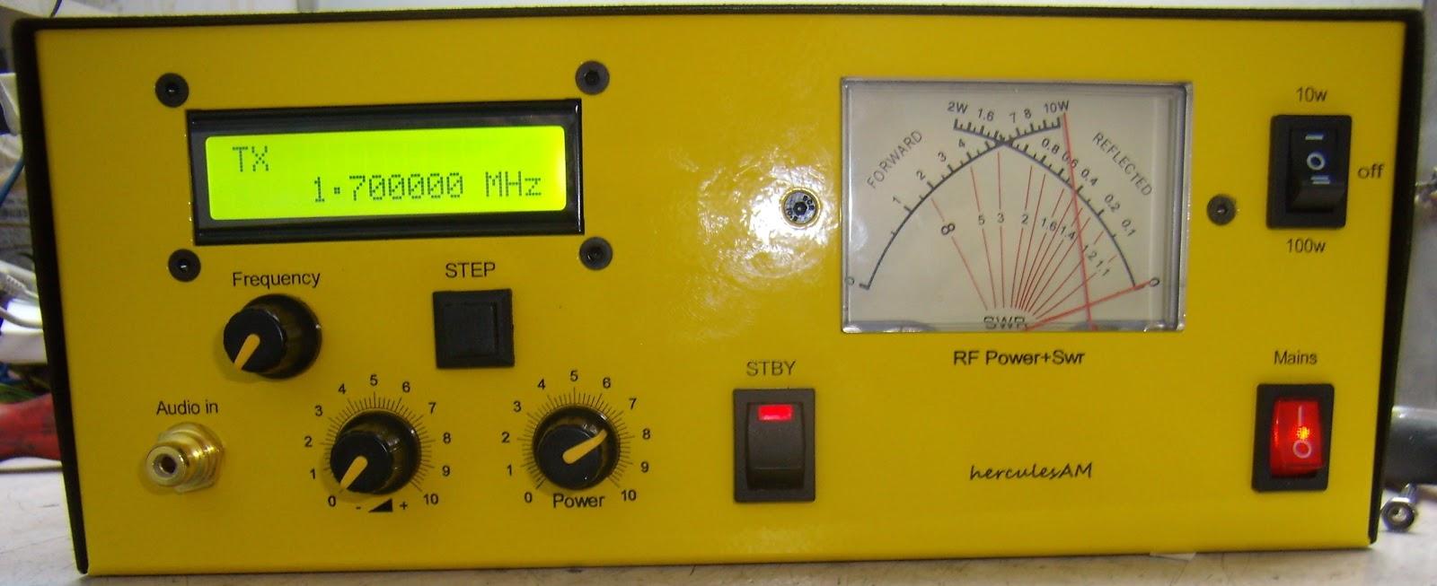 am dds transmitters: 10w am dds transmitter