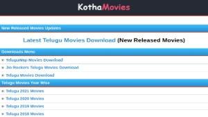 Kotha Movies Telugu movies Download