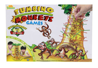 U-Build Games Tumbling Monkeys Games
