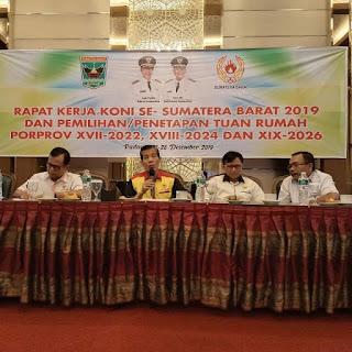 Kota Solok Tuan Rumah Porprov Sumbar 2024, Tanah Datar-Padang Panjang 2022, Pariaman 2026