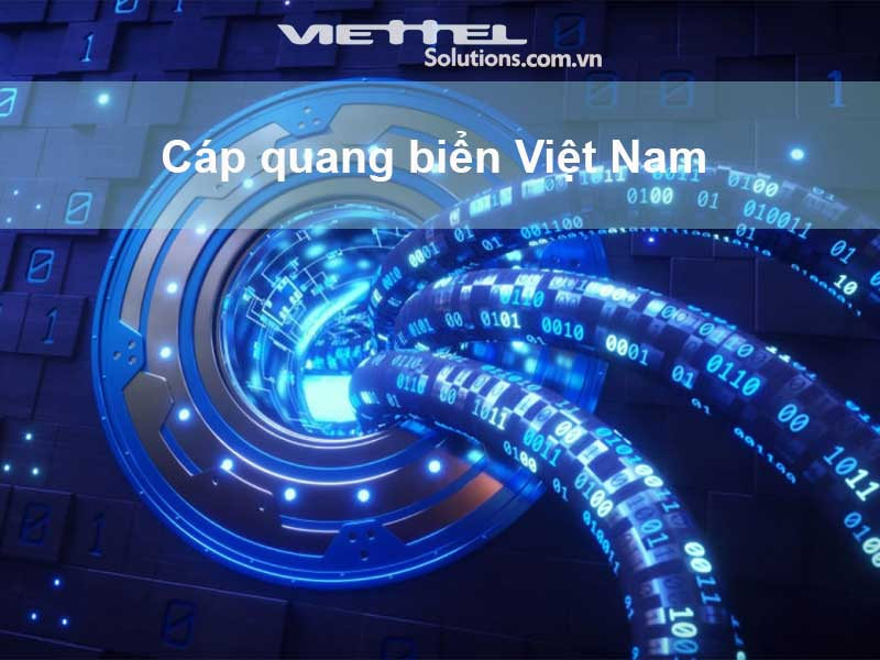 Ảnh minh họa: 8 tuyến cáp quang biển tại Việt Nam