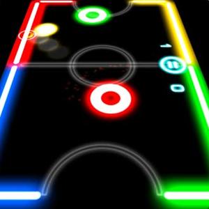 تحميل لعبة glow hockey برابط مباشر مجانا
