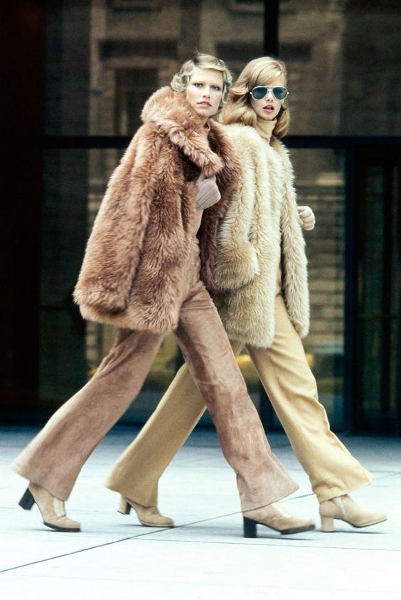 Faux Fur Coats Vogue 1970s