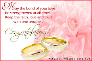 congratulatory wedding messages and best wishes