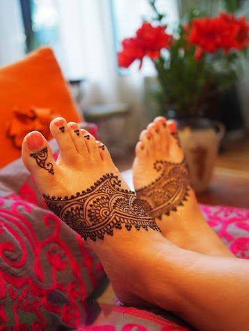 Best Mehndi Images, Photos, Wallpapers For Legs