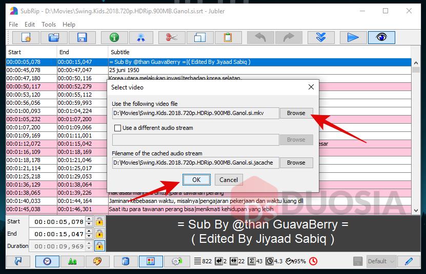 aplikasi edit subtitle terbaik pc