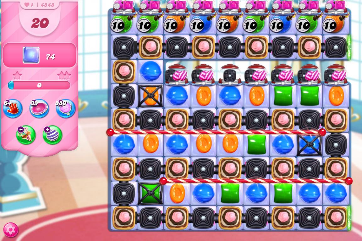 Candy Crush Saga level 4848