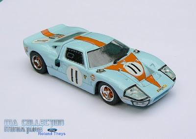 Bang, Ford GT 40