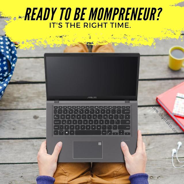 Menjadi Mompreneur Dengan ASUS VivoBook 14 A416